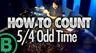 Counting 5/4 Odd Time Signature