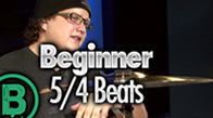 Beginner 5/4 Drum Beats