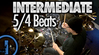 Intermediate 5/4 Drum Beats