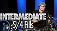 Intermediate 5/4 Drum Fills
