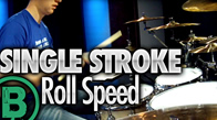 Single Stroke Roll Speed