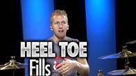 Heel-Toe Technique Fills