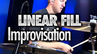 Linear Drum Fill Improvisation