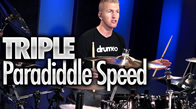 Triple Paradiddle Speed