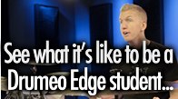 What it's like to be a Drumeo student…