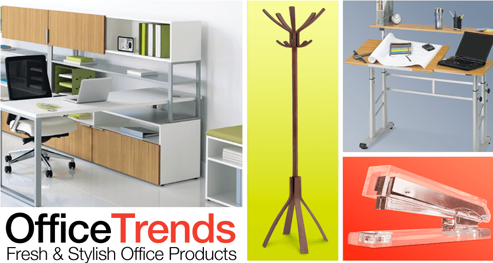 Office trends fresh and stylish office products for Trendy office supplies