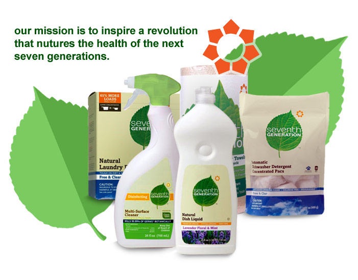 Seventh generation cleaning and household supplies for Futuristic household items