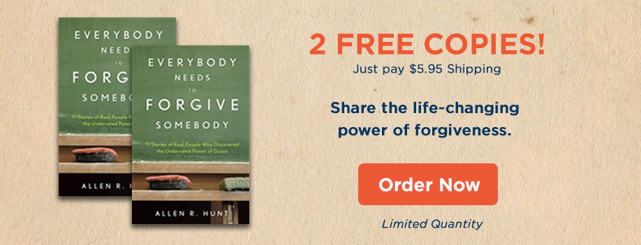 2 Pack of Everybody Needs To Forgive Somebody - Order Now