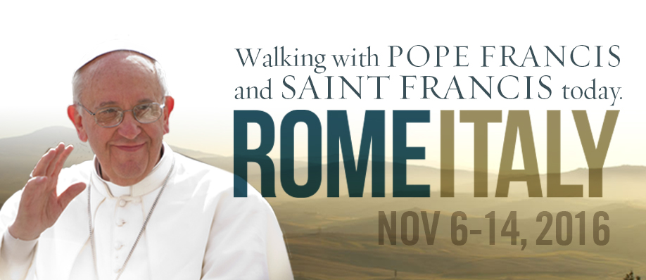 2016 Rome Italy Pilgrimage with Father Bob Sherry.