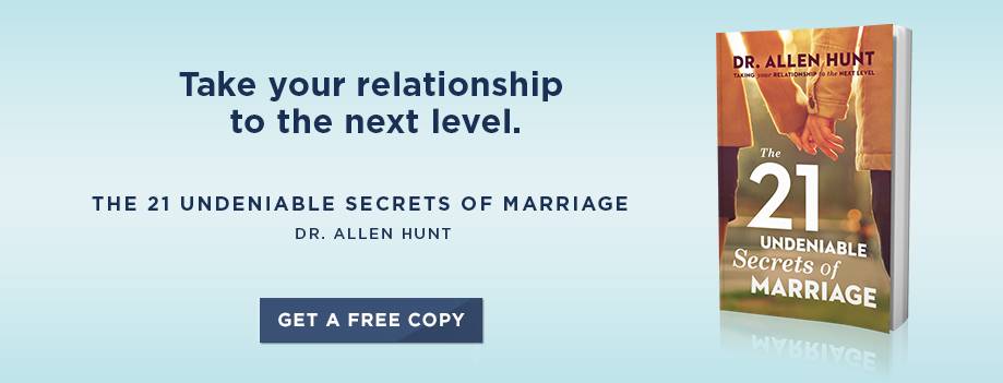 21 Undeniable Secrets of Marriage by Dr. Allen Hunt. - Get a Free Copy