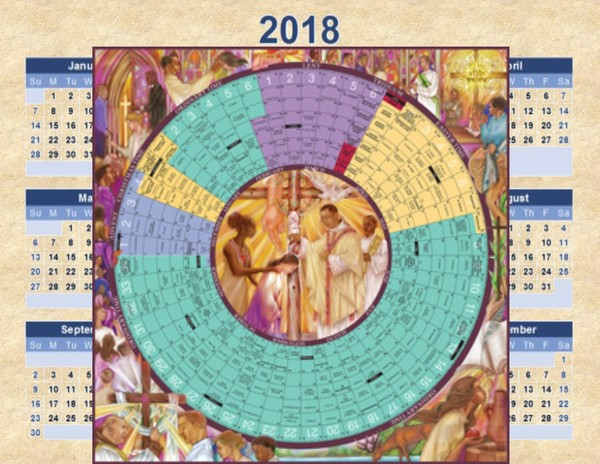 click above to access the roman calendar jpg 600x464 2018 liturgical