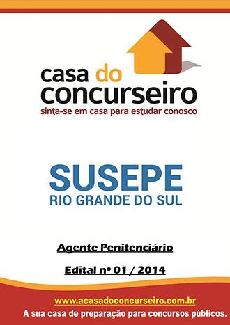 Apostila preparatória para concurso SUSEPE-RS - Agente Penitenciário Superintendência dos Serviços Penitenciários