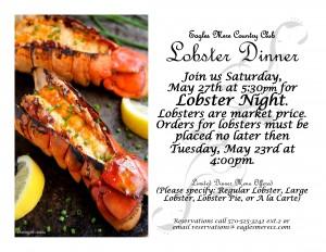 Lobster Night @  |  |