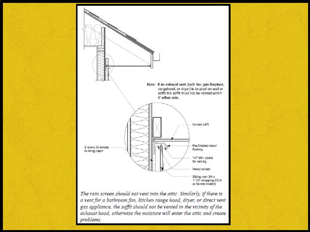 Rainscreen Detailing And The Canadian Building Code