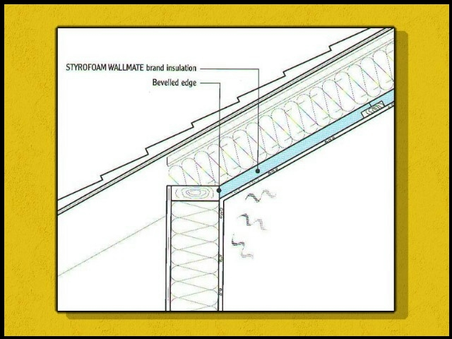 how do you insulate a vaulted ceiling