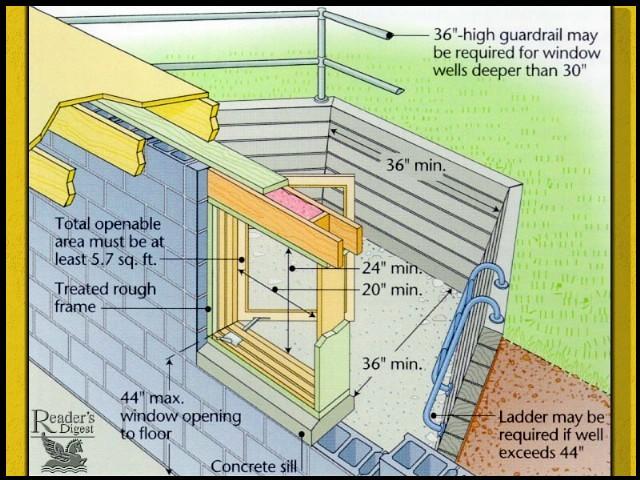 how can i make a basement window larger