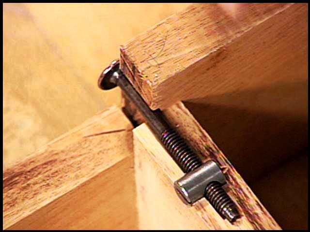 knock down furniture hardware