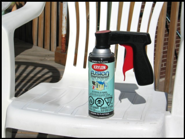 cleaning re finishing plastic patio furniture