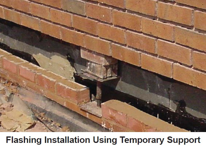 How To Install A Flashing At The Bottom Of An Existing