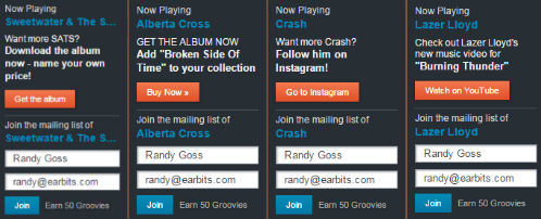 Custom Promo Ads for Artists on Earbits