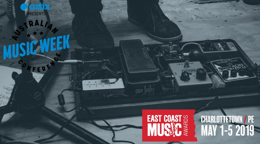 Applications Now Open- The AUSCAN Music Spotlight at the 2019 East Coast Music Awards: Festival and Conference