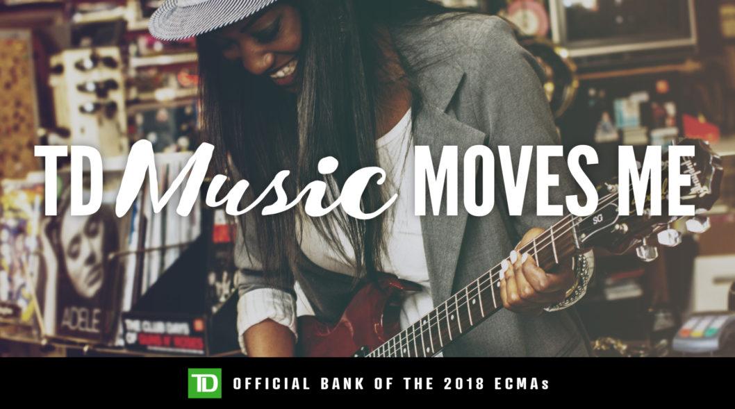 ECMA Announces TD Music Moves Me Winners!