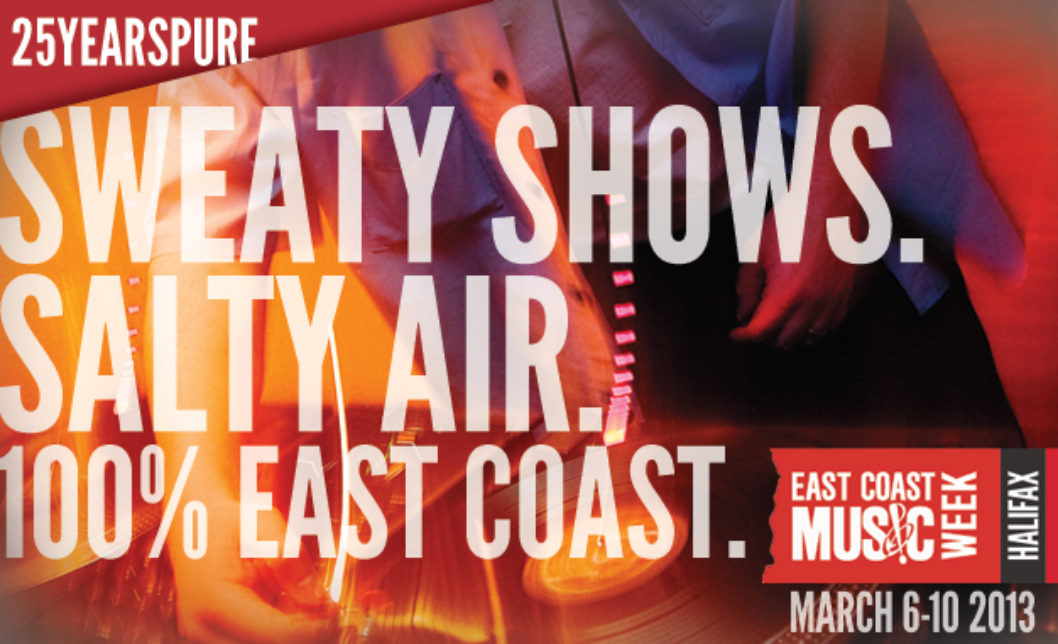 Over 70 Showcasing Artists Announced for East Coast Music Week 2013