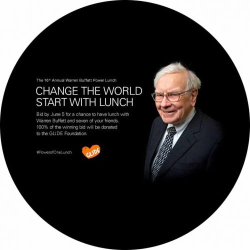 Lunch with Warren Buffet- charity auction