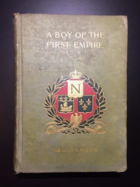 A-Boy-of-the-First-Empire-Elbridge-S-Brooks-1895-1st-Ed-Illustrated-302109617195