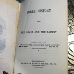 Bible-History-for-the-Least-and-the-Lowest-1854-First-Edition-illustrated-291562843134-6
