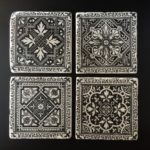Classic-Victorian-Patterns-Set-of-4-Handcrafted-Tumbled-Marble-Coasters-301991154244-4