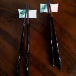 Japanese-Chopstick-RestsHolders-6pc-in-Original-Box-Flower-Design-301769258359-4