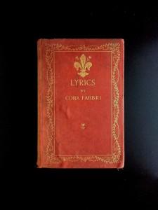 Lyrics-by-Cora-Fabbri-1892-Harper-and-Brothers-1st-Ed-Rare-291739071386