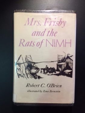 Mrs-Frisby-and-the-Rats-of-NIMH-Robert-C-OBrien-1st-Ed-1971-Illustrated-302226020418