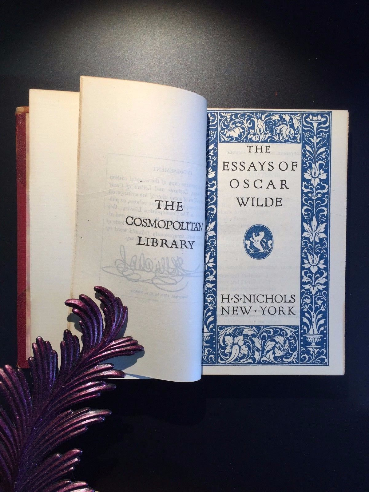 oscar wilde two volumes novels and fairy tales essays 1915 oscar wilde two volumes novels and fairy tales