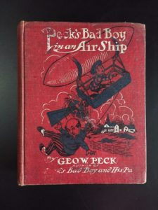 Pecks-Bad-Boy-in-an-Air-Ship-George-W-Peck-1908-1st-Ed-Illustrated-302079635951