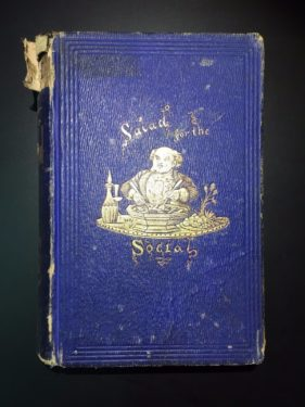 Salad-for-the-Social-Frederick-Saunders-1st-Ed-1856-Illustrated-302160022031