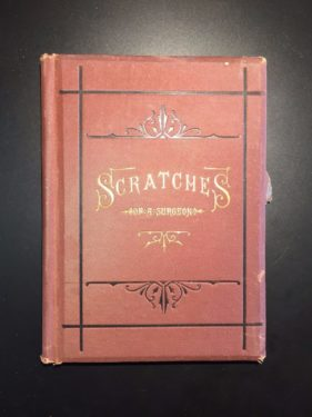 Scratches-of-a-Surgeon-by-WM-Tod-Helmuth-MD-Illustrated-1st-Ed-1879-302204465883