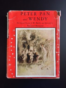 The-Blampied-Edition-of-Peter-Pan-DJ-J-M-Barrie-Illustrated-1st-Ed-1940-292061055230