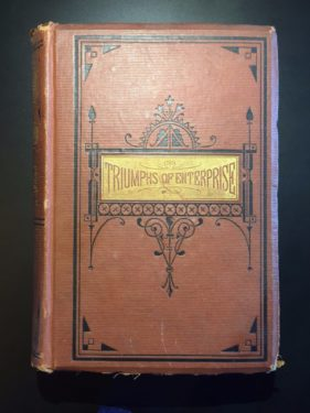 Triumphs-of-Enterprise-Ingenuity-Public-Spirit-James-Parton-1st-Ed-1874-291954504033