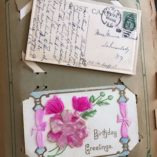 Vintage-Antique-Postcard-Album-with-63-Antique-Postcards-from-the-early-1900s-292061093097-3