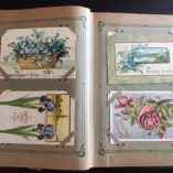 Vintage-Antique-Postcard-Album-with-63-Antique-Postcards-from-the-early-1900s-292061093097-7