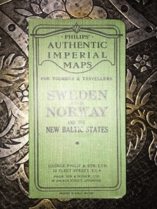 Philips-Authentic-Imperial-Maps-Series-Sweden-and-Norway-Baltic-c1905-291364858065