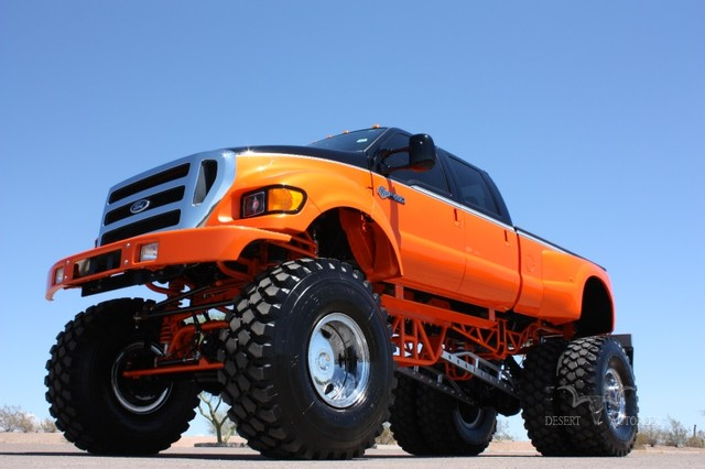 1999 Ford F350/650 Crew Harley Davidson Monster at Desert Autoplex in