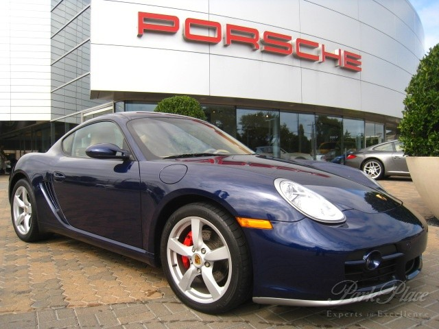 Certified Preowned 2006 Porsche Cayman S Tiptronic Coupe Lapis Blue ...