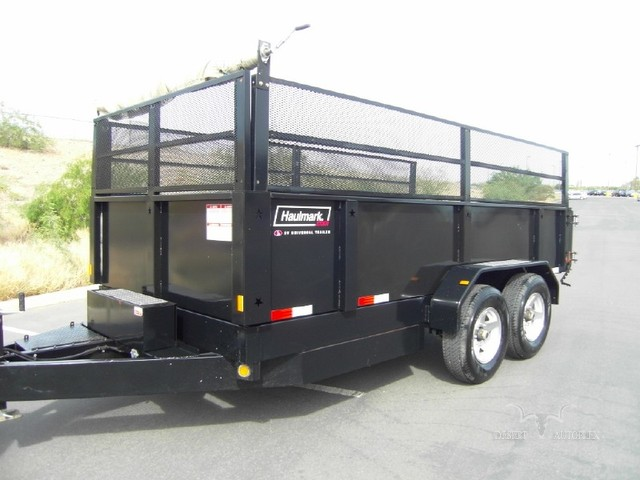 2006 Haulmark 14 Foot Hydraulic Dump Trailer 1000 N