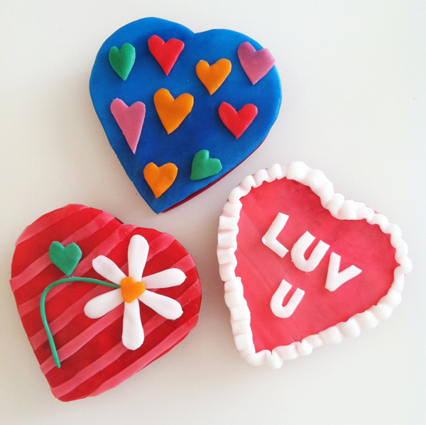 Decorate Valentine's Boxes with Airheads candy