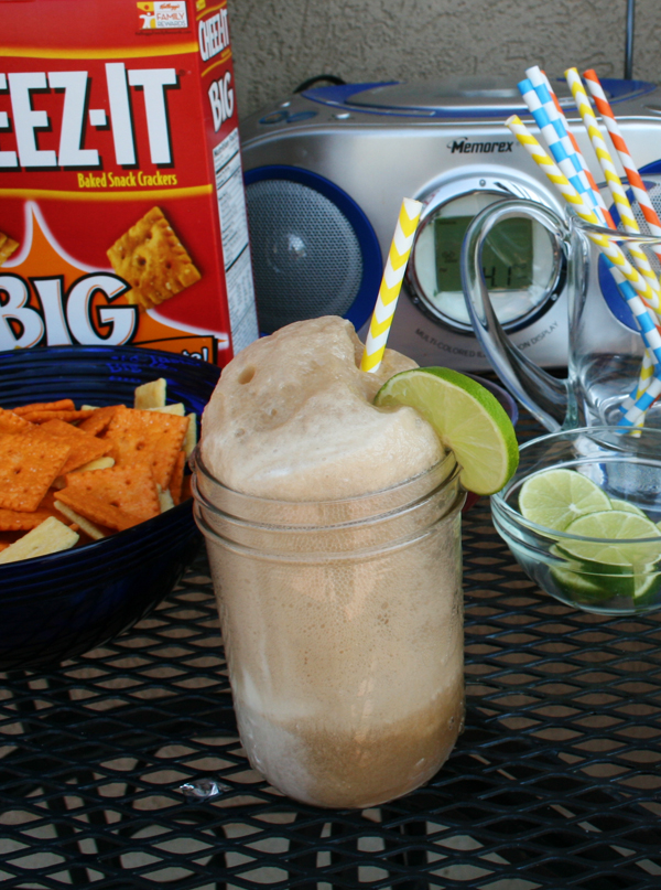 Dirty Dr. Pepper ice cream float