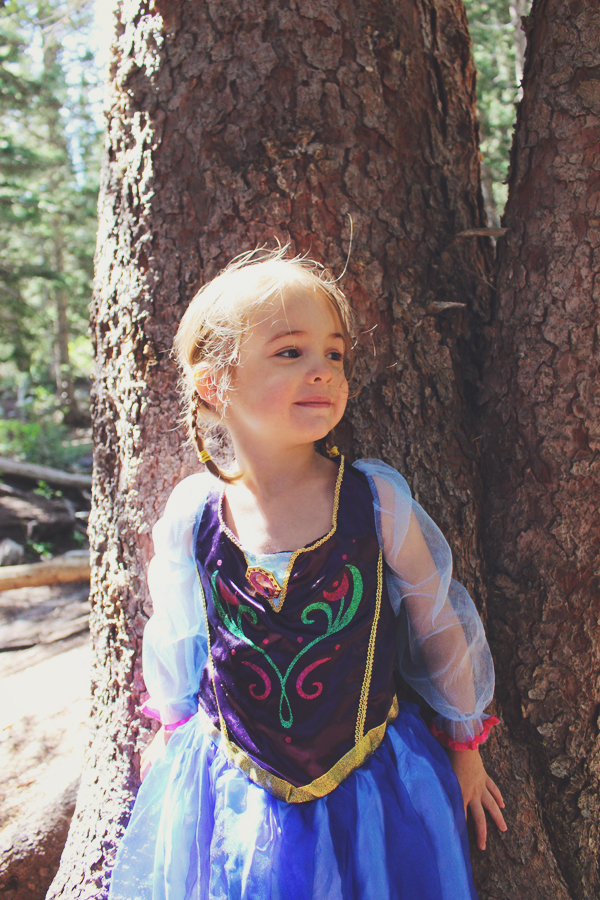 Princess Anna in the woods #FROZENFun #shop