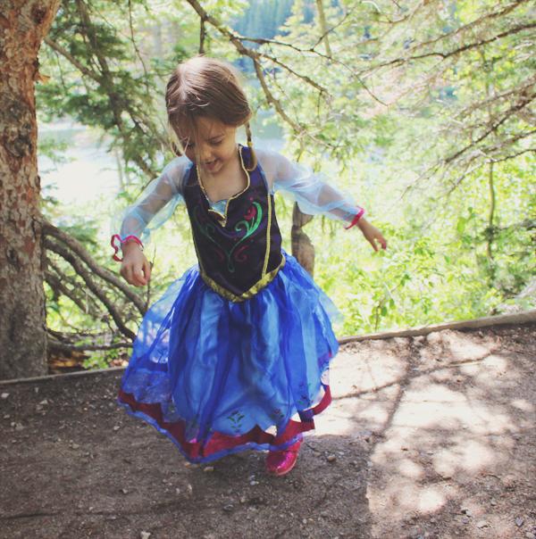 Princess Anna for Halloween #FROZENFun #shop